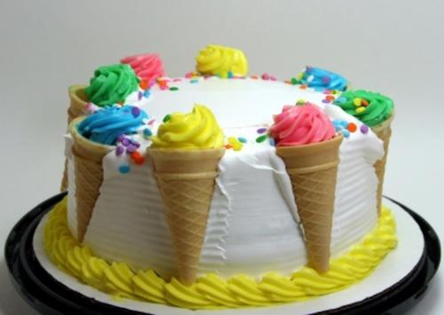 عسل و شكر - تزیین کیک